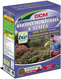 DCM meststof voor rhodo, hortensia, azalea 1.5kg