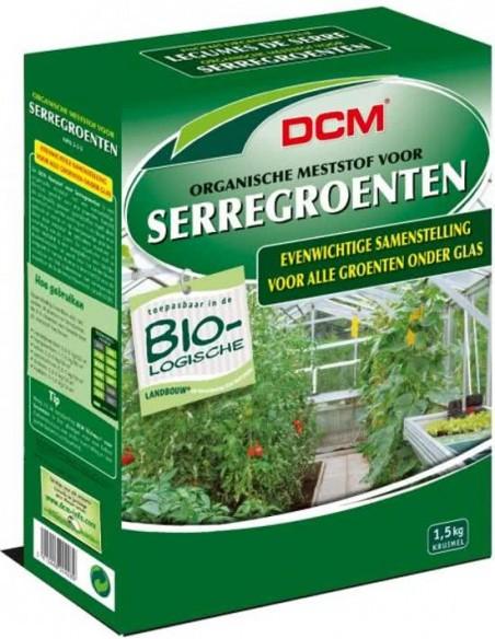 DCM meststof voor serregroenten