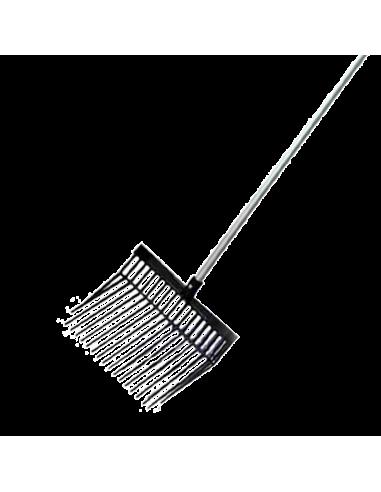 Mestriek met aluminium steel