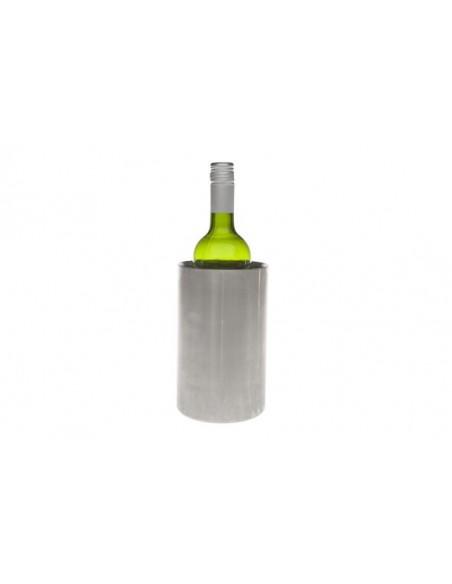 Wijnkoeler inox mat