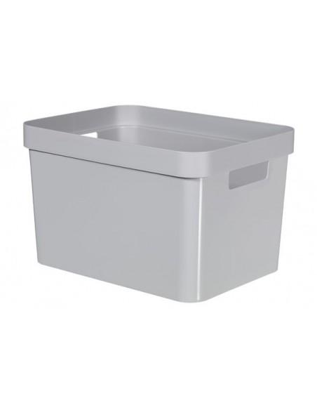 Infinity box grijs 17l