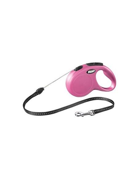 Flexi rollijn roze 5m S