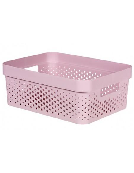 Infinity box dots roze 11l
