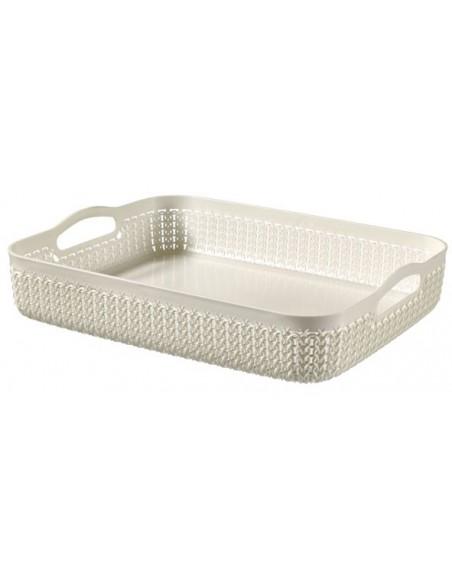 Knit tray A4 4.5l oasis white
