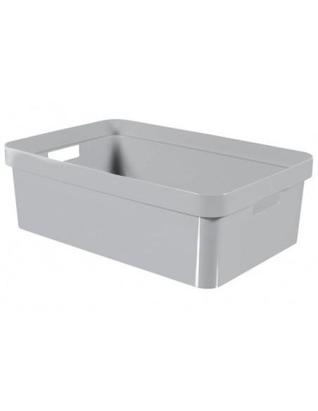 Infinity box grijs 30l