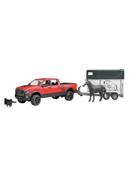 RAM 2500 Power wagon met paardentrailer 1:16