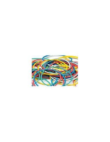 Elastiekjes klein multicolor 50gr fijn