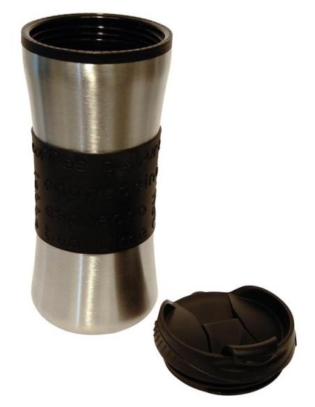 Savana mug inox + silicone 0.5l