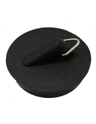 Wastafelstop rubber zwsart 38.5mm