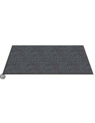 Twister vloermat 40 x 60 cm polyamide grijs
