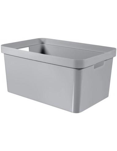 Infinity box grijs 45l