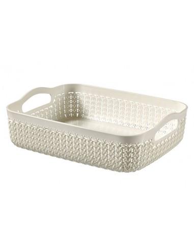 Knit tray A5 2.6l oasis white