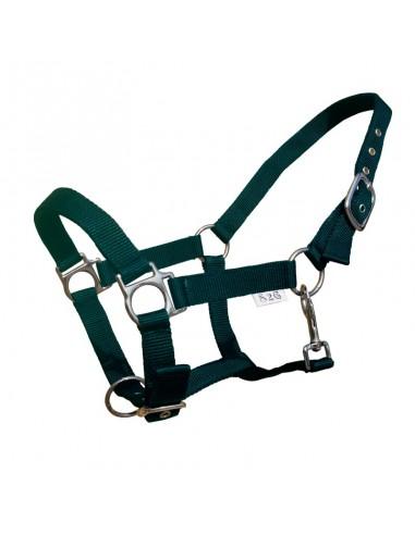 Halster nylon pony groen