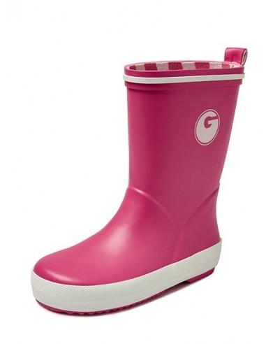 Groovy kinderlaars rubber roze