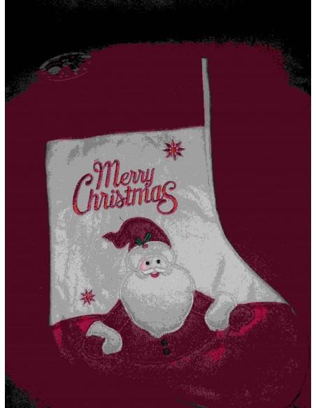 Kerst sok rood of jutte